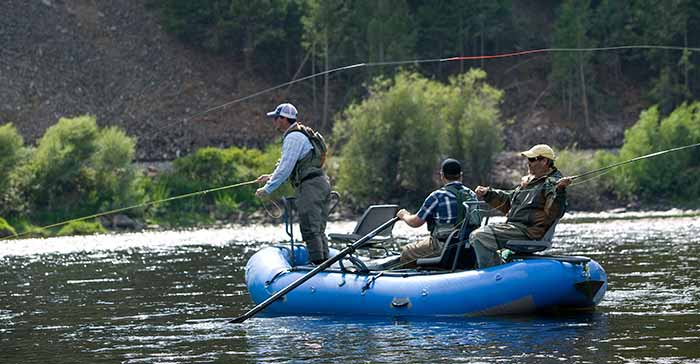 Fly Fishing Raft