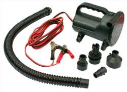 AIRE Hurricane Heavy Duty 12 volt pump with battery clamps