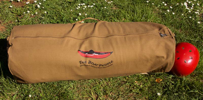 Whitewater Kayaks For Sale >> Canvas Inflatable Kayak Bag: The Boat People - Inflatable ...