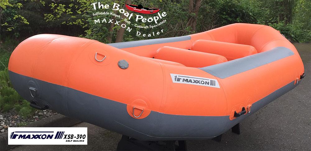 Maxxon XSB-390 River Raft: The Boat People - Inflatable Kayak & Raft