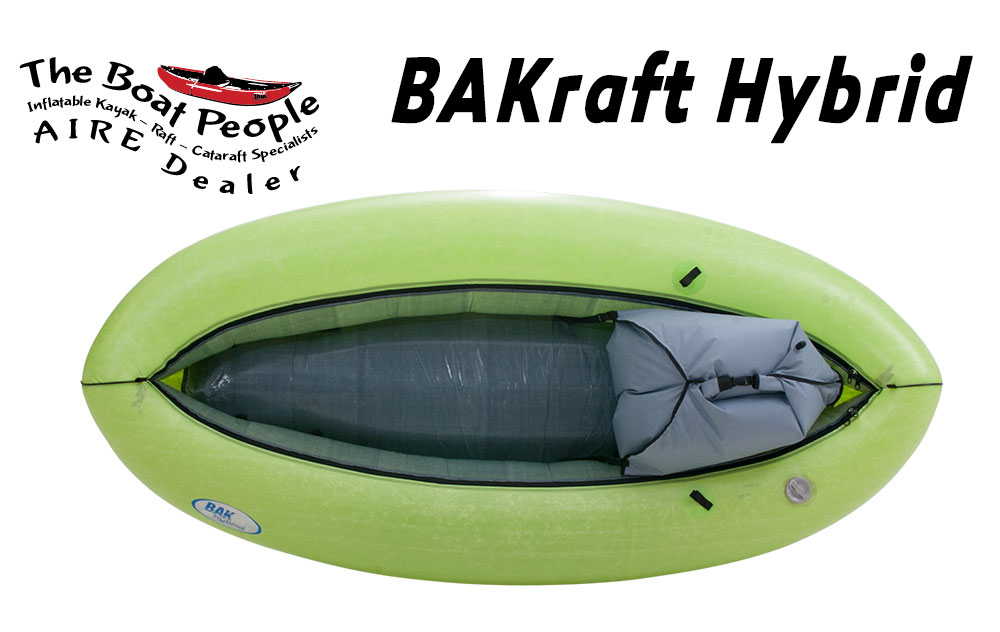AIRE BAKraft hybrid inflatable raft kayak