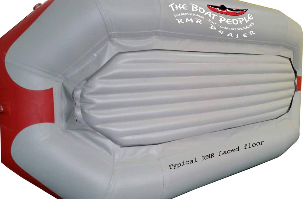 Rocky Mountain 12' Self Bailing Raft with laced floor - SB-120