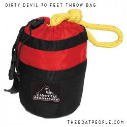 Liberty Mountain Rafter's 70' Throwbag, Cordura Bottom