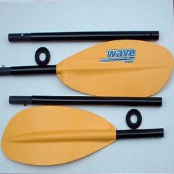 Cannon Wave 4-Piece FGX Fiberglass Shaft kayak paddle